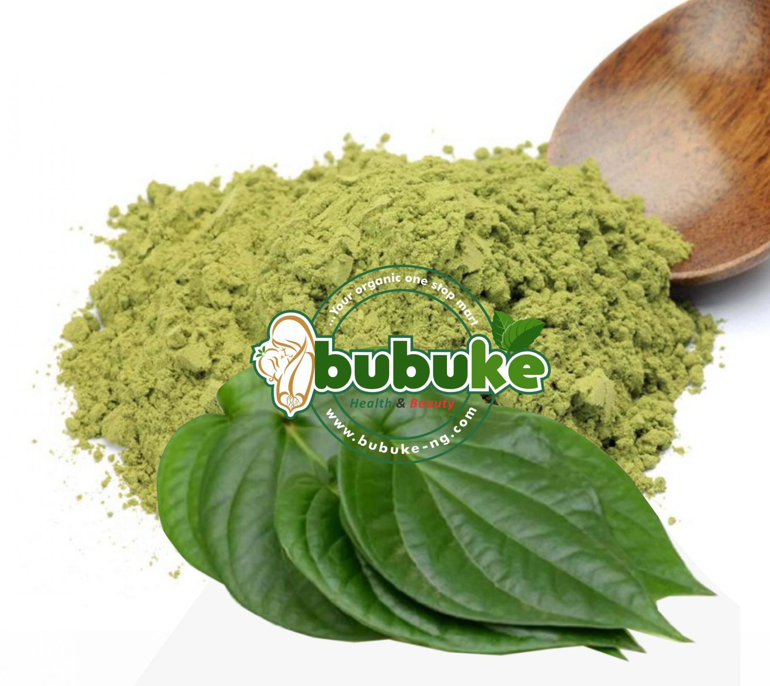 bitter leaf powder