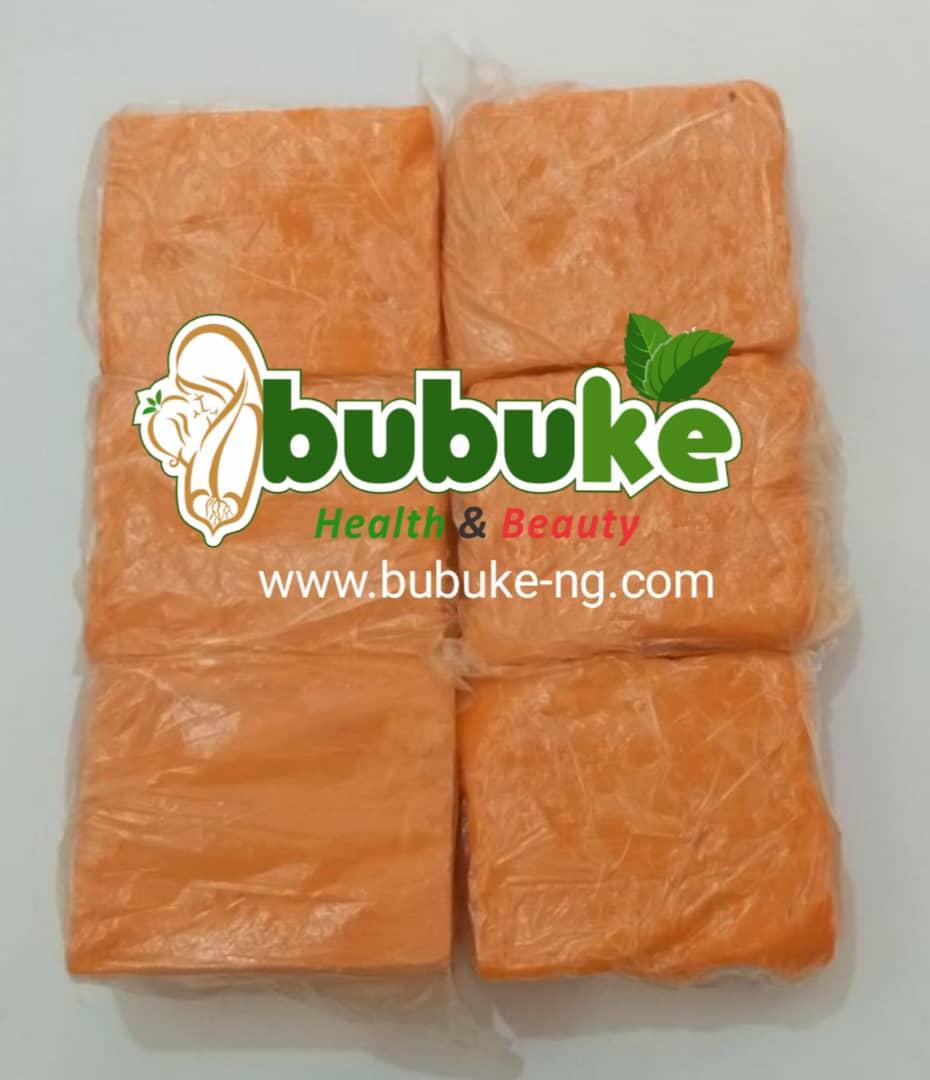 orange Ghana ozone soap