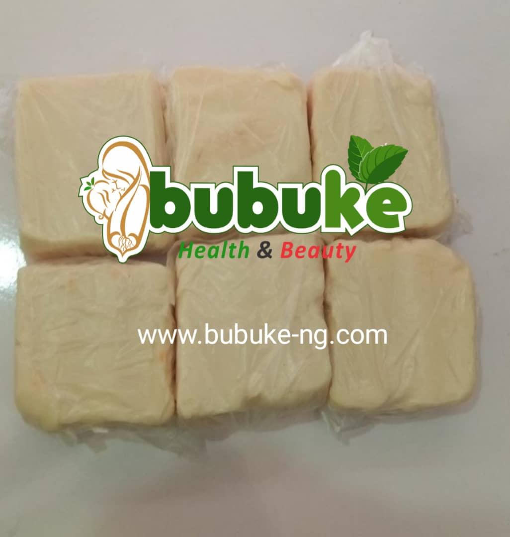 white Ghana ozone soap