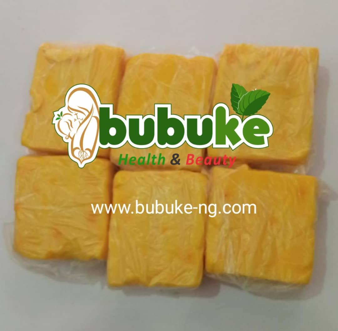 yellow Ghana ozone soap