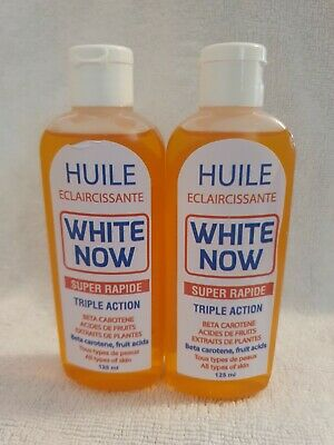 Huile White Now Triple Action Oil